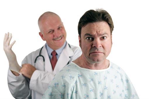 Пальцевое исследование простаты при простатите, аденоме и раке железы