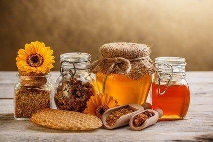 пчелопродукты и мед для щитовидки