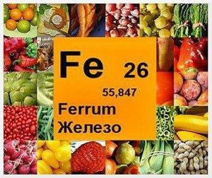 Какие продукты богаты железом. Таблицы доступных, полезных продуктов питания